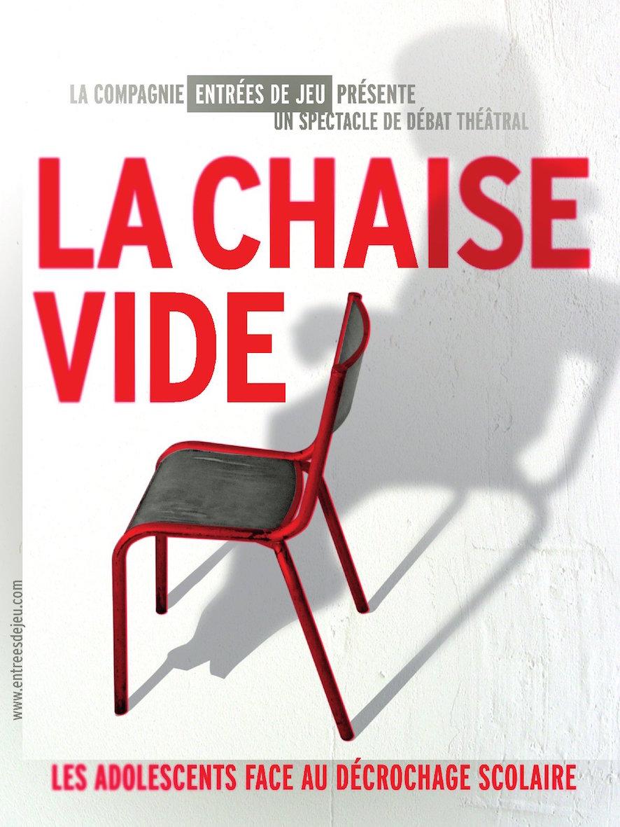 Affiche La chaise vide - copie